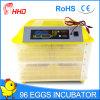 Hhd 96 Prijs van de Incubator van het Ei van Eieren de Automatische voor Verkoop (yz-96)