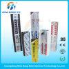 Las películas protectoras del PVC del PE para el aluminio seccionan color blanco y negro
