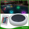옥외 IP68는 수영풀, 정원 및 당을%s 장식적인 태양 뜨 수영장 빛을 바꾸는 원격 제어 색깔을 방수 처리한다