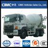 carro del mezclador concreto de 9cbm Hino