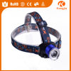 Niedrigpreisiger Verkaufs-Blitz-Licht-Kopf-Lampe ABS Sicherheits-Scheinwerfer