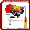 Mini capacité électrique d'élévateur de câble métallique de 200-400kg