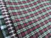 Tela pesada teñida de las verificaciones del hilo de algodón para los pantalones cortos