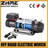9500lbs 12V del torno eléctrico del camino con la cuerda sintetizada