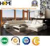 Sofa sectionnel de coin moderne de type, cuir blanc de l'Italie (HC1006)