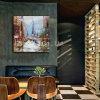 Accueil Toile peinture décorative avec Fame pour Modern City
