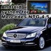 Interfaz video androide de la navegación del GPS para la clase de Mercedes-Benz C (NTG-4.5)