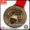 좋은 품질 주문 오래된 금 3D 금속 메달