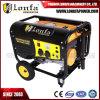 più nuovo generatore manuale della benzina di inizio di 2.5kVA 2kw con le rotelle
