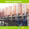 Separador em espiral para separação de minerais