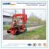 Bélier hydraulique diesel de marteau de poste de rambarde de route