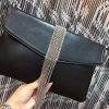 Bolsos famosos vendedores calientes Emg4573 del diseñador de la marca de fábrica del bolso de embrague del cuero genuino