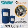 Composant deux deux parts de puate d'étanchéité secondaire isolante silicones en verre d'Ig de doubles