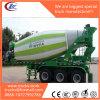 Las ventas calientes tienen acoplado del mezclador concreto del motor diesel 20m3 semi