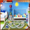 Printing de nylon Kids Play Carpets no quarto