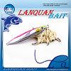 Attrait Lql1303 de pêche de tête de fil d'attrait de gabarit en métal de fil de vente en gros de Lanquan