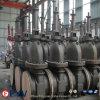 Запорная заслонка газа API 6D 150lbs плоская