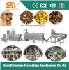Máquina dobro da transformação de produtos alimentares do cão da extrusora de parafuso