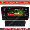 Car DVD Player for Pure Android 4.4 Car DVD Player with A9 CPU Capacitive Touch Screen GPS Bluetooth for 2014 Volkswagen Skoda Octavia (AD-8169)
