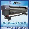Impresora solvente del formato grande de Sinocolor XR3208 con las cabezas del protón 382 de Xaar, los 3.2m, 1440dpi