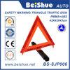 Señales de tráfico amonestadoras de camino de la precaución de encargo de la impresión del triángulo