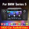 BMW 5シリーズX5 E53 M5 E39 (VBM7501) ipticalバイクのためのEllCar DVDプレイヤーGPS土曜日Navi