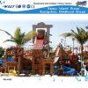 Outdoor Wooden Play House Water Park Grande casa Aqua (HD-6102)