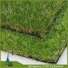 O jardim usou 40mm altura, grama artificial da forma de V