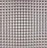 Metall Verglasung Rasterfeld-Serie Verglasung Porzellan-Keramikziegel