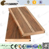 Decking composto plástico de madeira da placa antiderrapantes, Anti-UV de WPC (CD-01)