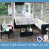 Sofà del giardino ed esterno di uso di svago del rattan