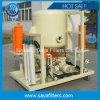 Purificador de óleo diferente do vácuo da elevada precisão da taxa de fluxo