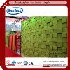 Panneau de plafond acoustique de silencieux de polyester 3D