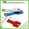 USB формы ключа металла логоса различного цвета изготовленный на заказ