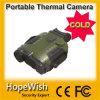 Prismáticos termales refrescados voz de la visión con el GPS y el telémetro