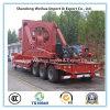 ファン・ブレードの輸送のためのLowbedの頑丈な半トレーラー