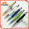 선물 (IP138)를 위한 첨필 접촉 펜을%s 가진 새로운 도착 질 금속구 펜