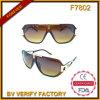 Frame de Deco do metal dos óculos de sol da parte superior F7802 lisa
