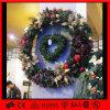 Свет венков рождества СИД напольный искусственний декоративный