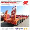 1120m Semi Aanhangwagen 3axle Lowbed (draag machinesapparatuur)
