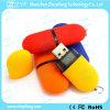 Mecanismo impulsor plástico del flash del USB de la venta de la dimensión de una variable caliente de la píldora (ZYF1224)