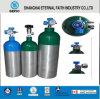 10L de draagbare Medische Flessen van het Gas van het Aluminium van de Zuurstof