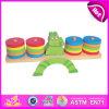 2014의 새로운 나무로 되는 아이 게임 장난감은, 나무로 되는 아이들 균형 게임 장난감, 나무로 되는 게임이 W11f023를 가지고 놀 최신 판매 균형 아기를 한다
