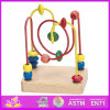 New caldo Product per Kids 2015 Wooden Game Toy, Wooden Toy Children Game Toy, Highquality String Wooden Bead Maze Game Toy W11b048