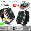 年配者または巡礼者(Y16)のためのが付いているGPSの追跡者の腕時計