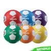 Цветастые резиновый игрушки 0405045 футбола