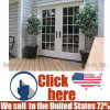 熱い販売の簡単な外部の材木木ドア