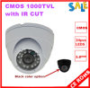 Ночное видение Camera Dome CMOS 1000tvl пластмассы (AP-1250SGH10)