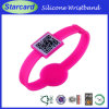 Phone의 2014의 관례 ID Qr Code Silicone Bracelets Scan