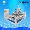 Máquina de madeira giratória do Woodworking do CNC do router do CNC de 4 linhas centrais